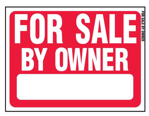 for sale by owner sign